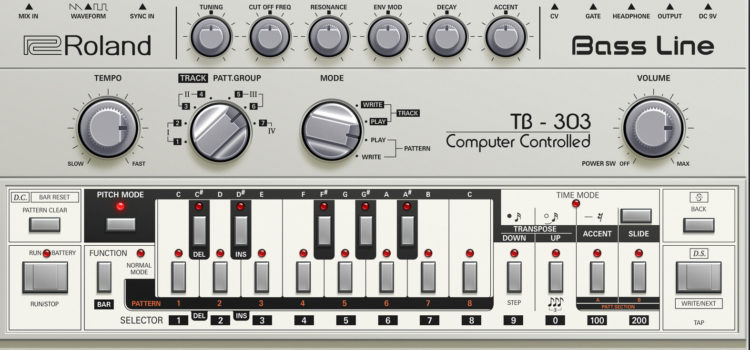 ROLAND ANNOUNCES CLONE OF TD3 – THE TOTALLY BEHRINGER 303 [TB 303].